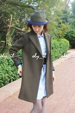 NEW ZARA WOMAN WOOL COAT WITH WRAPAROUND COLLAR Made In Spain Sizes S/M
