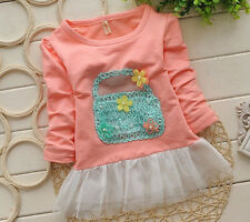 Newborn Baby Girl Clothing Infant 100% Cotton Dress Toddler Cute Flowers Dress