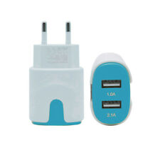 2Port USB Power Adapter Home Wall Charger 2.1A For Mobile Devices Smartphones EU