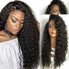 8A Unprocessed Indian Virgin Human Hair Silk Base Full Lace Wig Lace Front Wig #