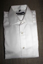 GEOFFREY BEENE MENS NO IRON CLASSIC FIT DRESS SHIRT WHITE 2 SIZES RP $55.00 NWT