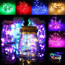 2/3/10M LED Battery Fairy String Lights Lamp Christmas Xmas Party Outdoor Decor
