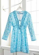 Mud Pie Anna Bell Blue Starfish TUNIC Dress / Beach Cover Up  NEW !!!