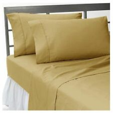 US Bedding Item-100% Egyptian Cotton 1000 TC In USA Size Taupe Solid .