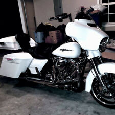 Curshed Ice Pearl Razor Tour Pack For 2014-18 Harley Street Electra Road Glide