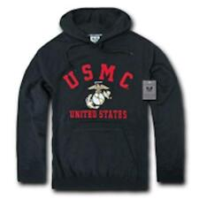 Fleece Hoodie Sweatshirt US Military MARINES USMC  NEW