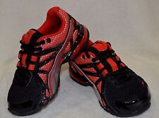 PUMA Girl's Voltaic 5 JR Black/Red/ Silver Running Shoes - Size 11 NWOB