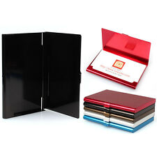 Aluminum Alloy Pocket Box Business Name Credit ID Card Holder Box Metal Case