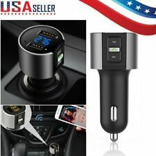 Bluetooth Car FM Transmitter Wireless Mp3 Player Radio USB Charger Adapter LOT