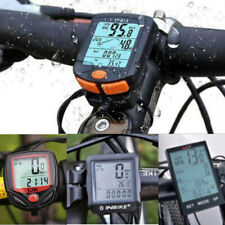 Waterproof Wireless Bicycle Cycle Bike Computer Speedometer Odometer Meter Time