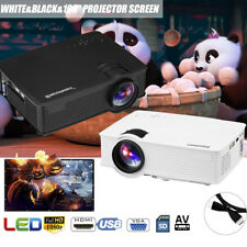 2000Lumens LED LCD Video Projector 1080P HD 3D Home Office Cinema Theater 100''