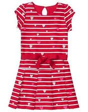 NWT Gymboree COZY VALENTINE Sz 5 and 8 Stripe heart Dress Girls