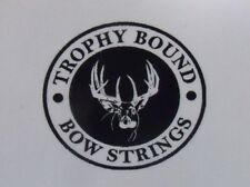 Alpine compound bow string Custom Colors Trophy Bound Strings various models