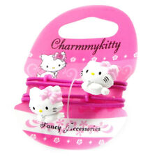 """Promo -30%, Charmmy Kitty [I1748] - Paire d'élastiques """"Charmmy Kitty"""" rose f..."""