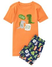 GYMBOREE SLEEPWEAR DINOSAUR Dino Mite 2pc BOYS PAJAMAS GYMMIES 5 7 NWT