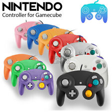 NEW Dual Analog Shock Controller Wired Game Pad for Nintendo Gamecube NGC GC Wii