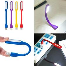 Flexible Mini USB LED Light Lamp For Computer Notebook Laptop Reading Bright <