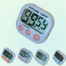 Audible Alarm LCD Digital Kitchen Cooking Timer Count-Down Up Clock Loud Alarm