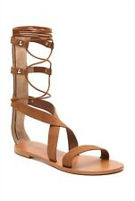 [ WITCHERY ] tan charlie gladiator suede sandals [ size: 38,39,40,41 ] $139.95