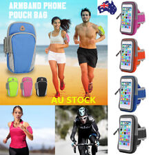 1/2 PCS Arm Band Bag Sport Gym Running Exercise Jogging Armband Pouch Case Phone