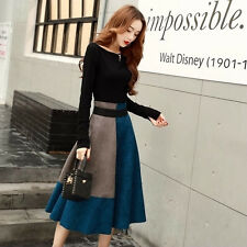 New Fashion Summer Two Piece Suit Sweet Korean Lady Slim National Style Skirt