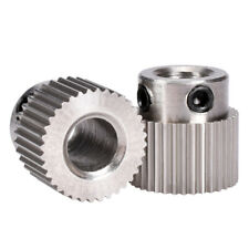36 teeth MK7 / MK8 Stainless Steel Planetary Gear Wheel Extruder Feed Extrusion