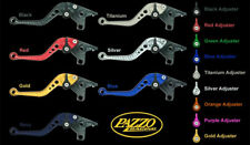 BMW 2015-17 R1200R R1200RS PAZZO RACING ADJUSTABLE LEVERS - ALL COLORS / LENGTHS