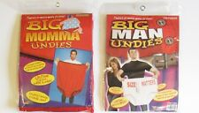 BIG MOMMA UNDIES GRANNY PANTIES  OR  BIG MAN UNDIES UNDERWEAR  GAG GIFT PRANK