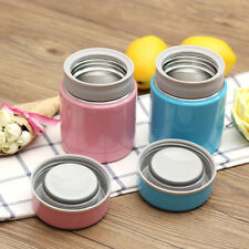 Stainless Steel Insulated Thermal Food Jar Kids Lunch Box Picnic School Soup Mug