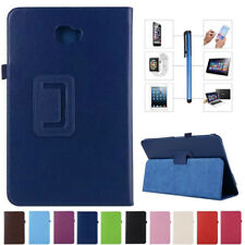 PU Leather Stand Folio Case Cover Protective For Samsung Galaxy Tab 4 3 Tablet