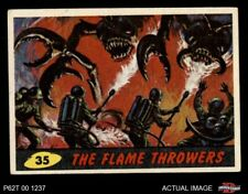 1962 Topps / Bubbles Inc Mars Attacks #35 The Flame Throwers  EX