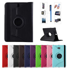 360 Rotate Stand Leather Case Cover For Samsung Galaxy Tab A E 7.0 8.0 9.6 10.1