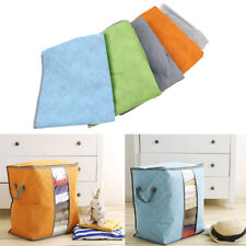 Bamboo Charcoal Portable Clothes Blanket Thick Folding Bag Storage Box Organizer