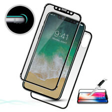3D Front+Back Curved Titanium Tempered Glass Film Screen Protector For iPhone X