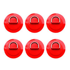 6pcs Stainless Steel D-ring Pad for PVC Inflatable Boat Dinghy Kayak