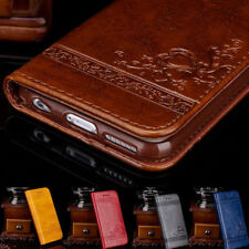 For iPhone Case 5 5S SE 6 6S 7 Plus Wallet Case Leather Cover Pouch Stand Flip