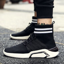 Mens Fashion Casual Sport Shoes Running Walking Sock-shoes Breathable Sneakers
