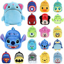 Kid Baby Boy Girl Small Cartoon Backpack Schoolbag Toddler Shoulder Bag ZTJ