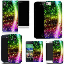 hard durable case cover for iphone & other mobile phones - rainbow crescent