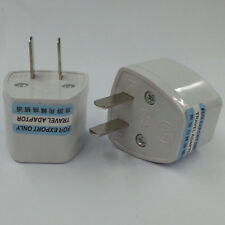 Travel Converter Adapter charger AU EU Europe to US USA Adaptor Plug Converter