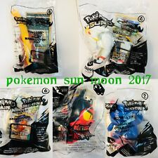 McDonalds 2017 Pokemon Sun Moon Happy Meal Toys Pick your favorite New Sealed