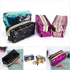 Glitter Sparkling Sequins Dazzling Clutch Handbag Bling Purse Evening Party Bag.