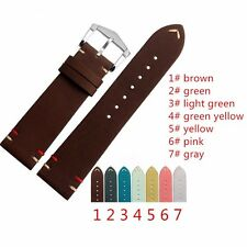 Vintage Calf Leather Straps for Omega and for IWC Watches With Buckle + Tool