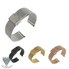 Mesh Bracelet Band For Rolex Tudor Watches and For oris Watch Band Straps + Tool