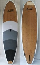 "10'6"" BAMBOO SUP - CANOE & KAYAK SPORTS ALL ROUNDER STANDUP PADDLE BOARD"