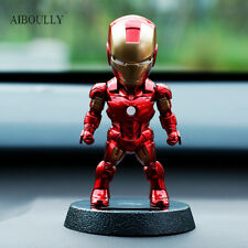 NEW!! 12cm Iron Man 3 Action Figure Tony Stark Q version PVC Figure for Boy Toys