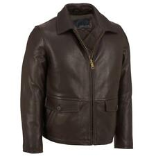 Wilsons Leather Mens Thinsulate Lined Leather Barn Coat