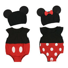 Cute Baby Boy Girls Romper Polka Dots Jumpsuit Bodysuit Outfits Party Costume