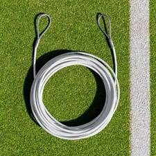 Tennis Net Headline Wire Cable | Loop & Pin | Double Loop