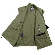 Olive Drab Green Undercover TSA Smartphone iPhone Travel Sleeveless Vest Jacket